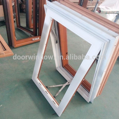 China manufacturer frosted awning window frameless aluminium windows florida