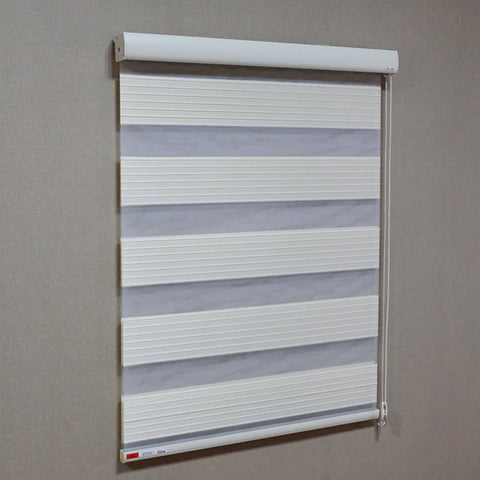China product motorized pleated fabric zebra blinds window for french door on China WDMA