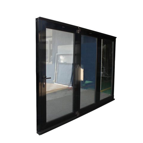 China quality supplier AAMA/AS2047/NZS4211 patio glass folding door on China WDMA