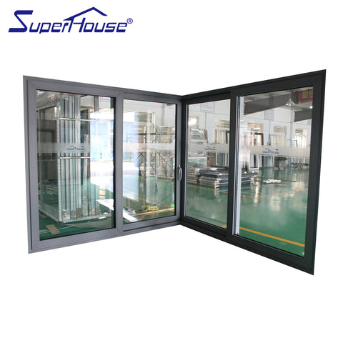 China supplier high end AAMA, NOA,Australia standard impact sliding glass door on China WDMA