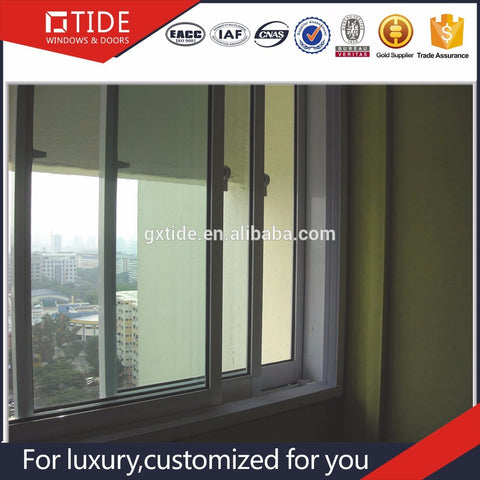 WDMA Noise Reduction Window - China suppliers aluminum sound insulation noise reduction sliding window / awning windows
