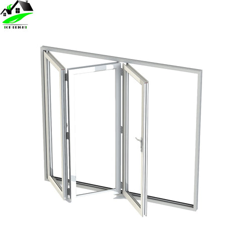 China suppliers prices Exterior aluminum accordion folding door windows on China WDMA