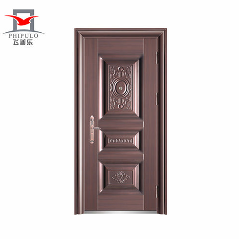 Chinese Hinges Cast Aluminum Bullet Proof Front Door Designs on China WDMA