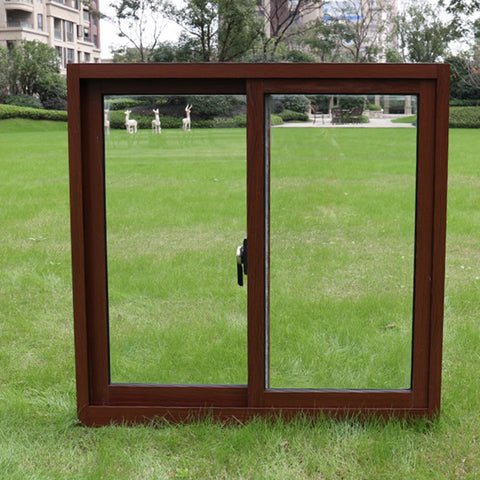 Chinese Supplier French Aluminium Alloy Sliding Window With Double Tempered Glass on China WDMA