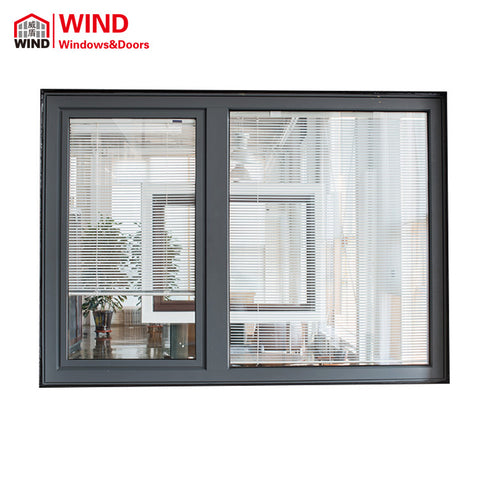 Chinese aluminium wood louver security shutters jalousie window manufacturer on China WDMA