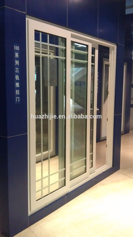 Chinese attractive appearance high quality cheap white ready made double glazed upvc windows doors on China WDMA