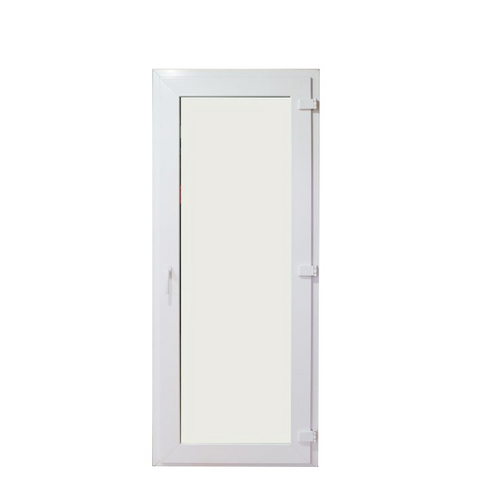 Chinese factory corrosion-proof pvc casement doors commercial swing door glass french with cheap price on China WDMA