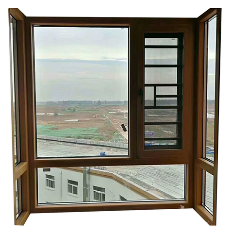Chinese supplier aluminum double glazed window on China WDMA