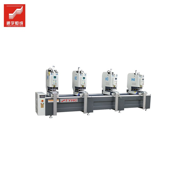 Chinese supplier machinery for aluminium window fabrication / corner crimping machine with cnc Of Low Price on China WDMA