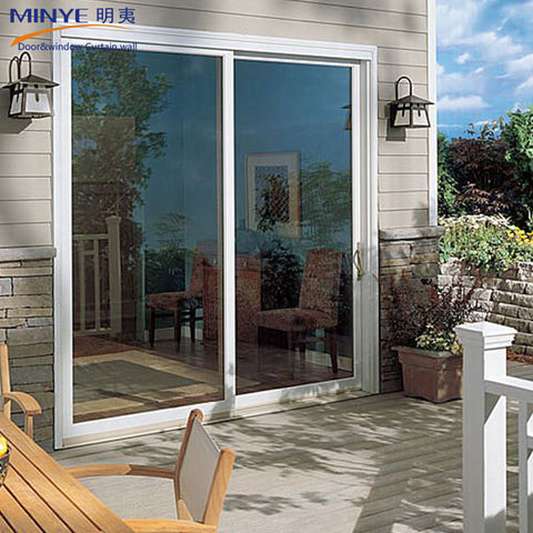 Chinn alibaba supplier balcony aluminum 3 panel sliding glass doors on China WDMA