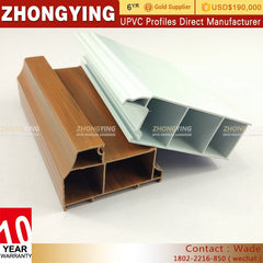 Co-extrusion Upvc System Window And Door Economic Style A Kinbon Doors-co-extruded Maker Cleaning Pvc Profile For Stretch on China WDMA