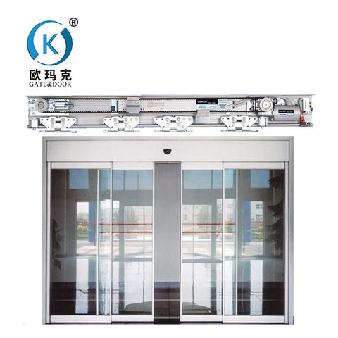 Commercial Double Aluminum Frameless Glass Doors/High- Grade Steel Security Door With CE Certificates on China WDMA