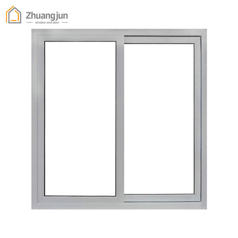 Commercial Horizontal Aluminium Frame Sliding Window on China WDMA