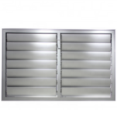 Commercial House Fixed High Quality Aluminum Louver Window on China WDMA
