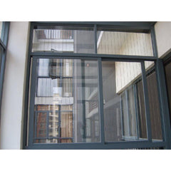 Commercial aluminum glass window aluminum double glass folding door on China WDMA