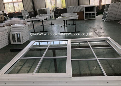 Commercial building PVC window, Sliding/Awning/Swing Vinyl window and door from china PVC window factory on China WDMA