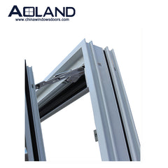 Commercial grade aluminium tilt and turn glass windows with AS 2047 on China WDMA
