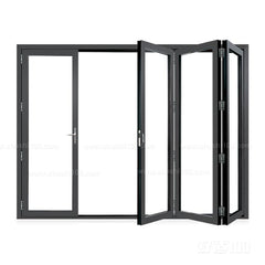 Custom Aluminum Frame Folding Sliding Door on China WDMA
