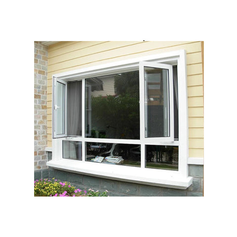 Custom Made Commercial Windows Aluminum Windows French Windows Design Accordion Window on China WDMA