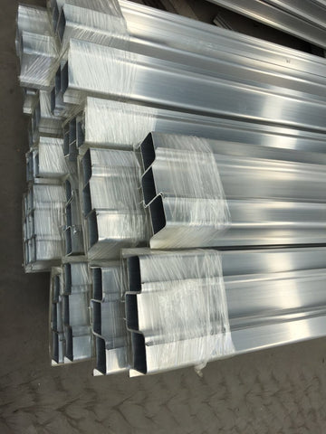 Custom Superior ethiopia type of sliding aluminium window door accessories profile on China WDMA