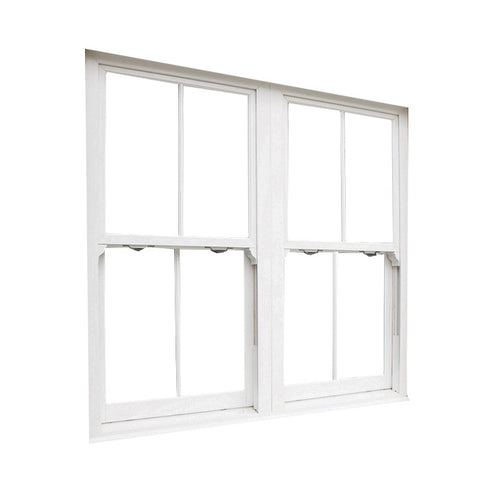 Custom energy efficient aluminum thermal frame single hung windows,storm house windows