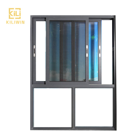 Custom house floor to ceiling windows colored glass aluminum frame mosquito screen sliding window materials for kitchen on China WDMA