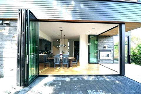 Custom latest main design aluminium frame glass sliding door on China WDMA