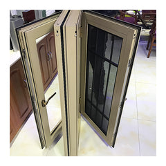 Custom two or three track bronze color sliding windows and doors frames on China WDMA