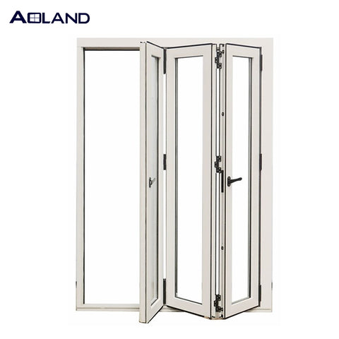 Customize laminated glass bifold doors windows for bathroom on China WDMA