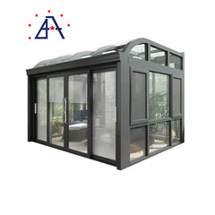 Customized Aluminium Retractable Sunroom Glass Sunrooms with Sliding Doors on China WDMA