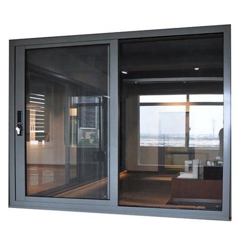 Customized Awning Aluminum Frame Double Glazing Window Sliding Glass Window for House and Office on China WDMA