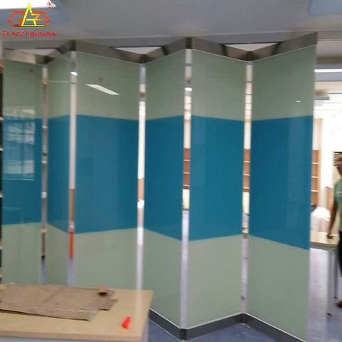 Customized Hight quality stainless steel sliding folding door for interer shop on China WDMA