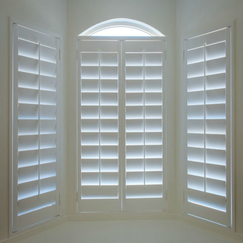 Customized hot sale windows double pain with wooden shutters on China WDMA