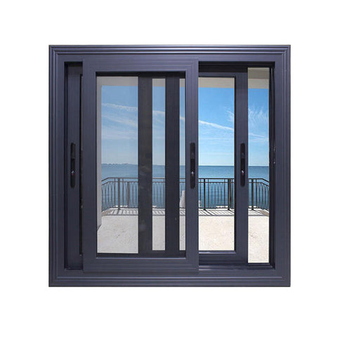 Customized insulated glass sliding window track system design on China WDMA