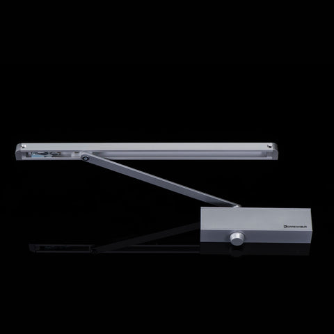 D2000H CE Listed Aluminum Automatic Sliding Track Arm Door Closer for 25-65kg door on China WDMA
