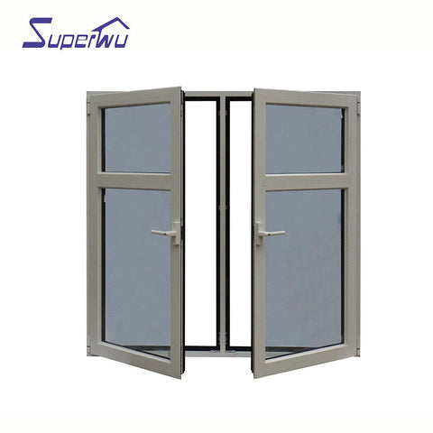 DADE/AS2047/NFRC Picture office safe glass hurricane impact aluminum windows and doors on China WDMA