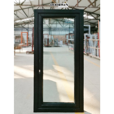 Dallas aluminum glass door and window for office front designs french on China WDMA