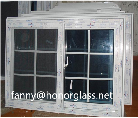 Decorative upvc sliding windows and doors prices bay window 3 panel triple pvc casement window on China WDMA