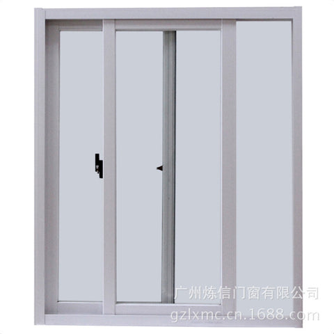 Design High Quality Interior Office Cheap Price Internal Shutter Triple Pane Sliding Aluminum Extrusion Window Profile on China WDMA