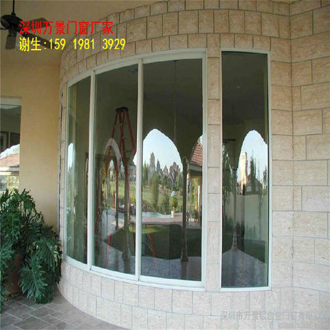 Design Interior Office Frame Double Tempered Glass Windows Producer Luxurious Us Style Aluminum Sliding Window on China WDMA