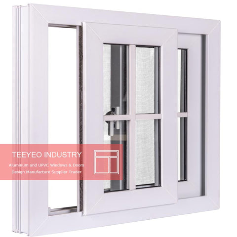 Direct sales house windows design of pvc aluminum sliding windows price philippines on China WDMA