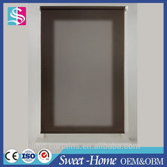 Dongguan transparent outdoor sun protection fabric roller blinds for windows on China WDMA
