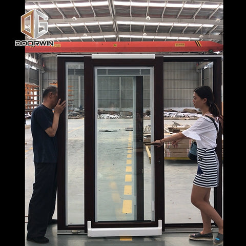 Doorwin push to open sliding door on China WDMA