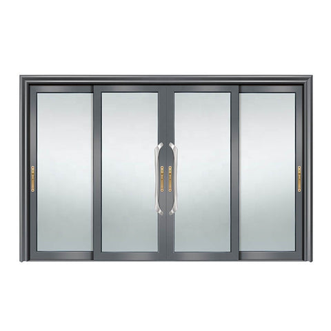 Doorwin sliding door- Thermal break double safety glazing aluminum sliding doors triple glass aluminum lift sliding door on China WDMA on China WDMA