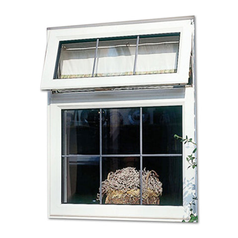 Double Glass Window Aluminum Commercial Aluminium Awning Window Screen Frame Price on China WDMA