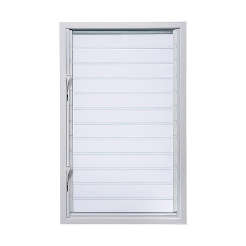 Double Glaze Glass Glass Shutter With Adjustable Blades Louvre Windows on China WDMA