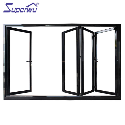 Double Glazing Aluminium Soundproof Used Exterior French Doors For Sale on China WDMA
