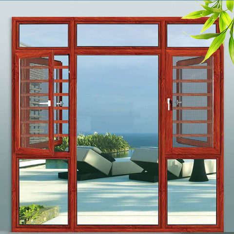 Double Glazing Shutter Fixed Shutter Windows Garden Window Energy Efficient Windows Aluminum Windows on China WDMA