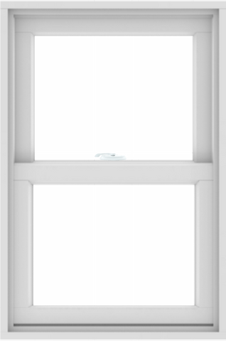 ChinaWDMA Double Hung Single Hung Window Standard Size 24X36 Upvc Vinyl Framee