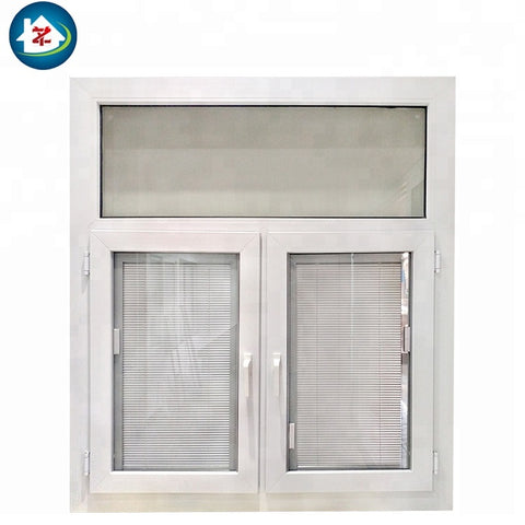 Double glazing vinyl hurricane impact pvc jalousie windows in the philippines on China WDMA